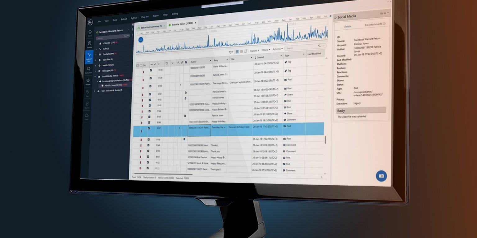 UFED Physical Analyzer 可行動型資安資訊功能